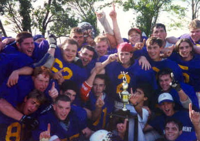 Huronia Stallions 1993 UNDEFEATED GREAT LAKES CHAMPIONS