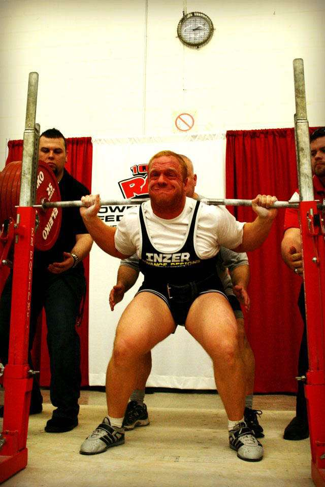 Excited too amateur power lifting